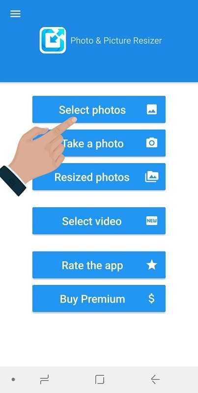 آموزش تغییر سایز عکس با برنامه Photo Resizer + برش تصویر